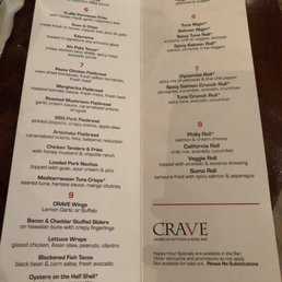 Photos for CRAVE - Mall of America | Menu - Yelp