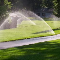 Photo Of Father Sons Sprinklers Fort Lauderdale Fl United States
