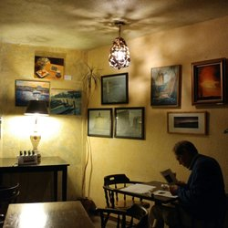 photo of garden house cafe san francisco ca united states work of - Breakfast House Restaurant Wall Designs