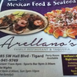 Photo Of Arellano S Family Restaurant Taqueria Tigard Or United States