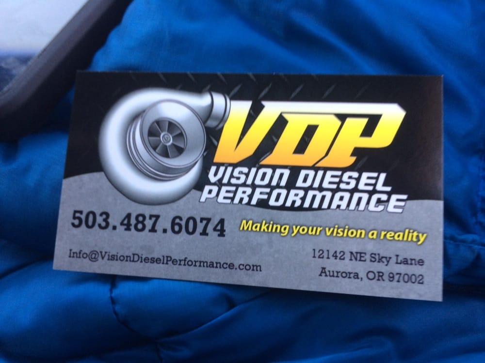 Vision Diesel Performance: 12142 NE Sky Ln, Aurora, OR