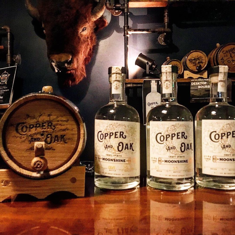 Copper And Oak Craft Spirits: 739 High St, Portsmouth, VA
