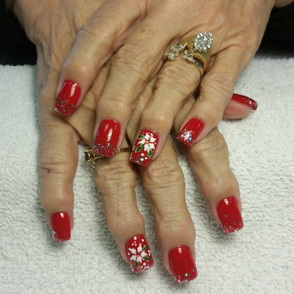 Le Nail Spa: Christmas Nails