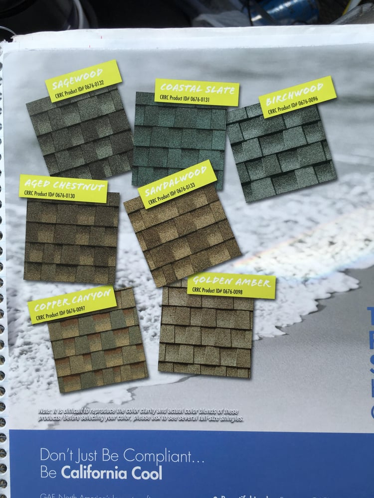These Shingles Meet All Of California Title 24 Compliance