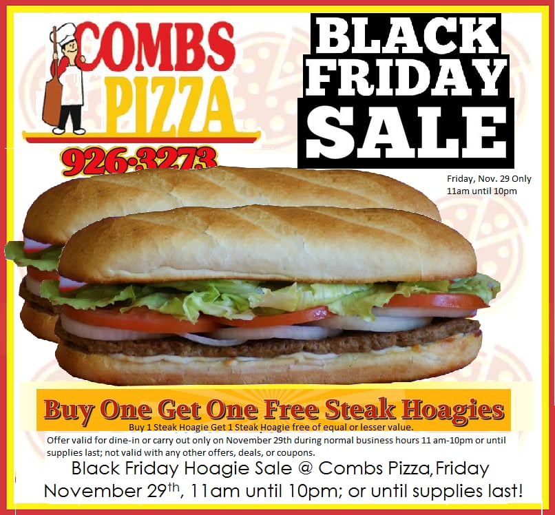 Combs Pizza: 329 2nd St, Aurora, IN