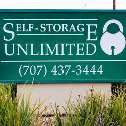 Awesome Photo Of Self Storage Unlimited   Fairfield, CA, United States. Our Sign And