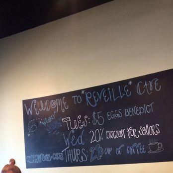 Reveille Cafe Menu Sugar Hill