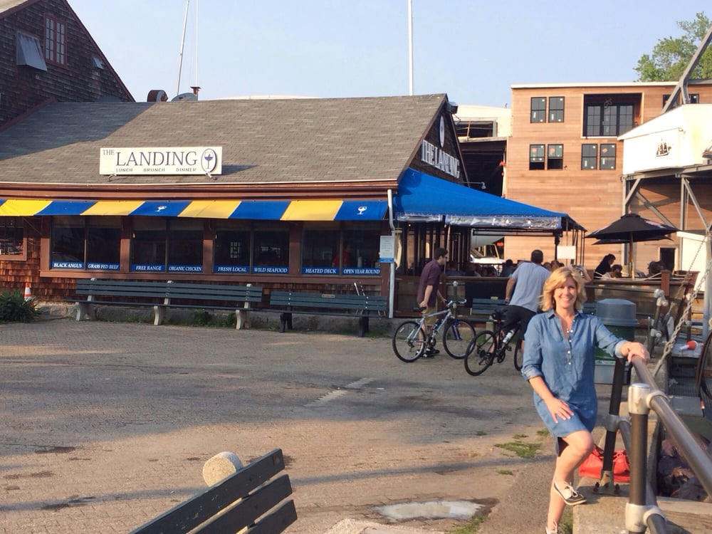 The Landing Restaurant  Front St Marblehead Ma