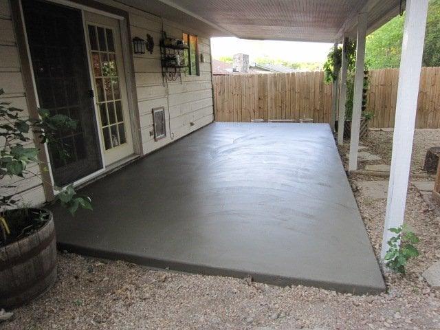 Superb Photo Of Austin Concrete Construction   Austin, TX, United States. 10x20  Patio (