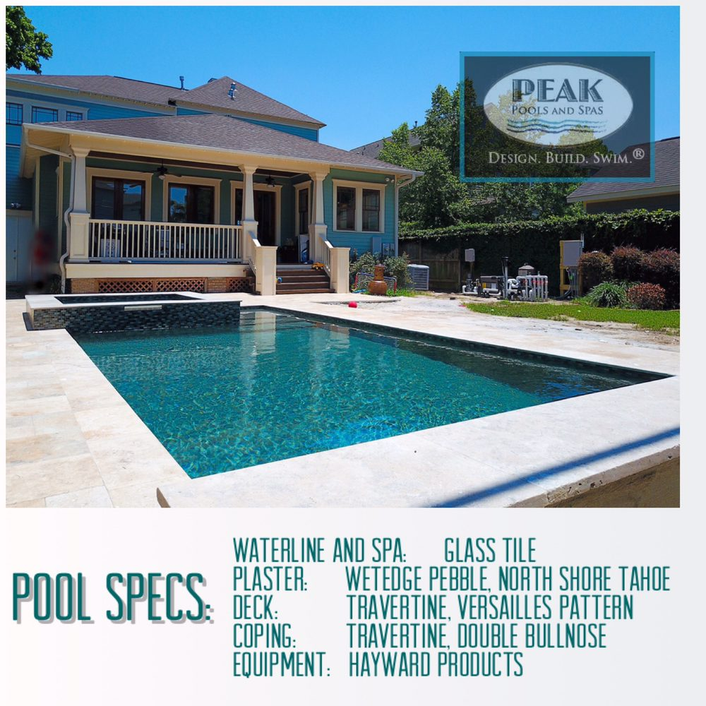 Pool And Spa Attractive Personalised Home Design