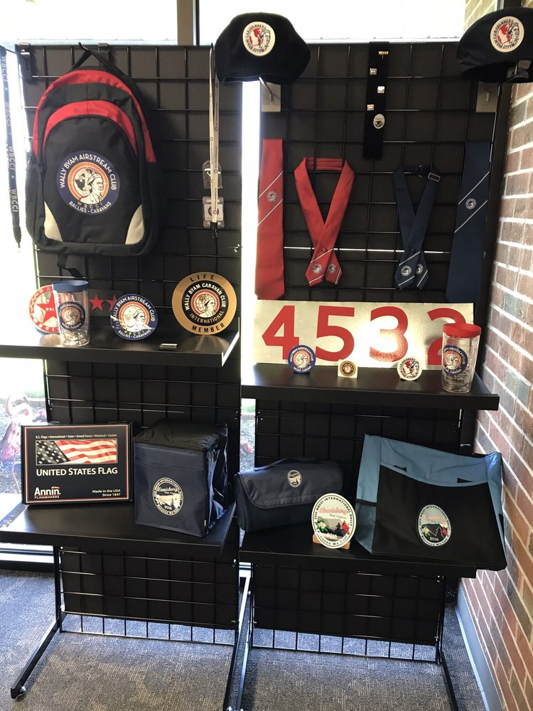 Wally Byam Airstream Club International: 803 E Pike St, Jackson Center, OH