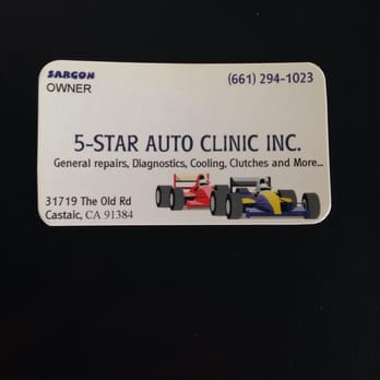 5 Star Automotive >> Five Star Auto Clinic 17 Reviews Auto Repair 31719 The