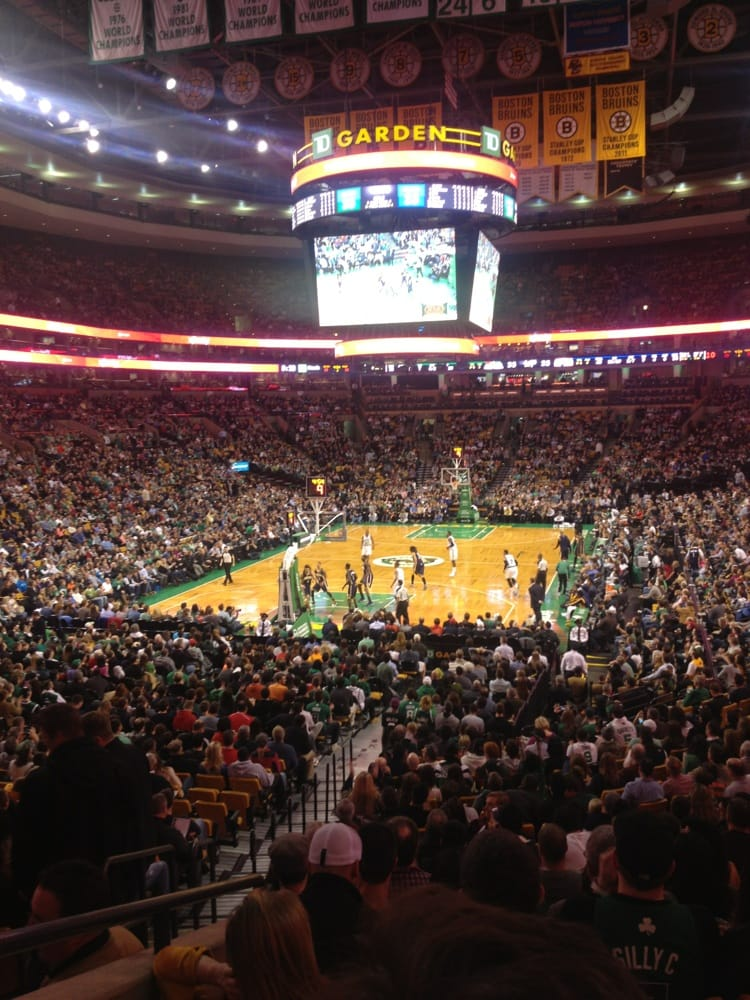 We Had Great Seats Celtics Vs Pacers Yelp