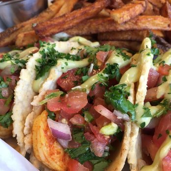 Photo Of Blue Roof Bistro Fairbanks Ak United States Shrimps Tacos
