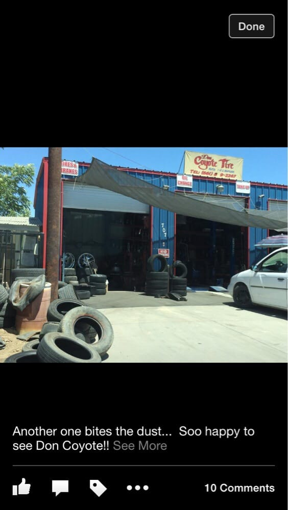 Don Coyote Tire: 918 E Armstrong Ave, Earlimart, CA
