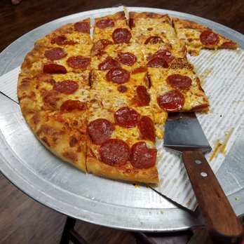 Photo Of Barnaba S Pizza Pie Myrtle Beach Sc United States Large Pepperoni