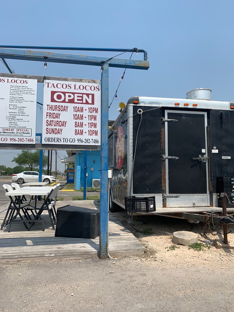 Tacos Locos: 8101 W Bussines 83, Palm Valley, TX