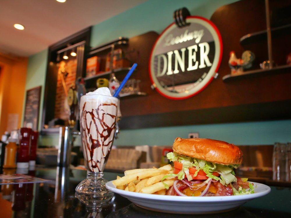Leesburg Diner: 9 S King St, Leesburg, VA