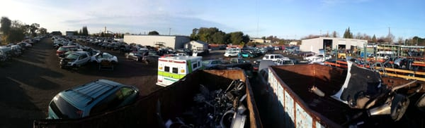 BW Auto Dismantlers 2031 Pfe Rd Roseville, CA Auto Wrecking