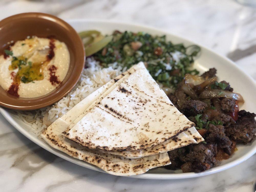 Food from Laziz Kitchen