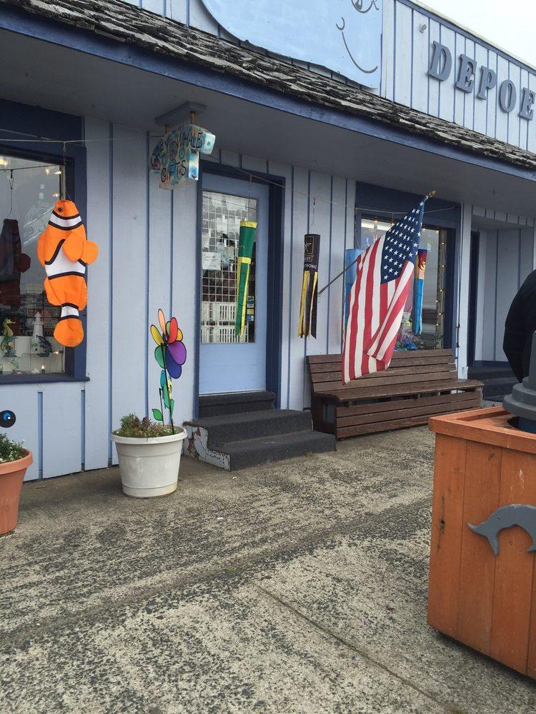 Grey Whale Gift: 28 N Highway 101, Depoe Bay, OR