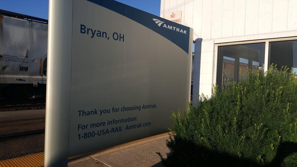 Amtrak Station - Bryan: Paige And Lynn St, Bryan, OH