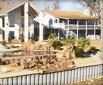Litchfield Retaining Walls & Boathouses: 26501 Private Rd 6403, Kemp, TX