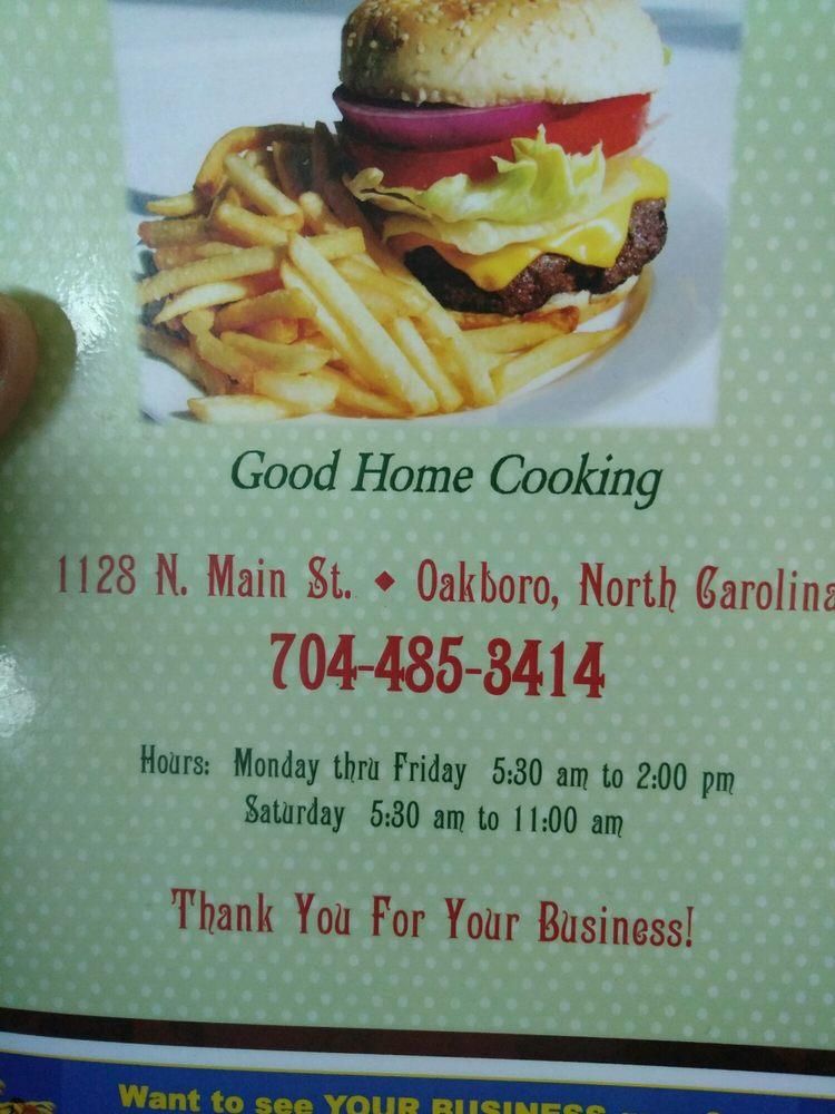 Tammy's Oakboro Restaurant: 1128 N Main St, Oakboro, NC