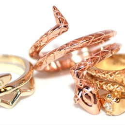 Photo Of Little King Jewelry New York Ny United States Snake Rings