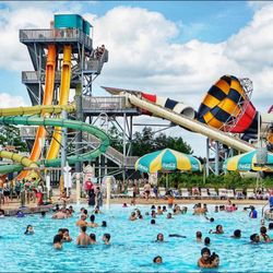 P O Of Six Flags Hurricane Harbor Gurnee Il United States Fancy Being