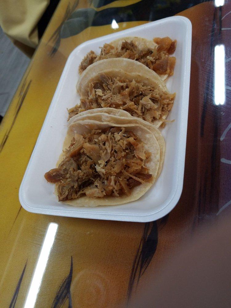 Food from Carniceria Azteca