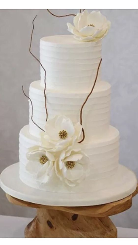 Simple And Elegant Design Wedding Cake For Bryant And Amy Yelp