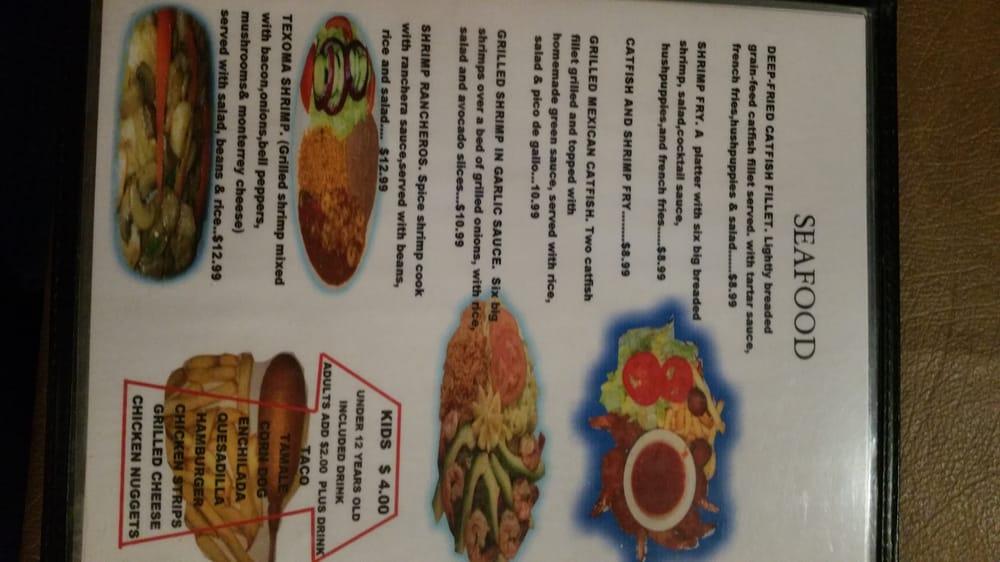 Las Hacienda Mexican Grill: 2400 Highway 82 E, Whitesboro, TX