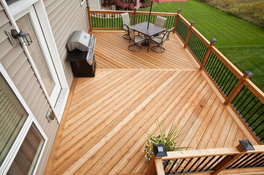 Minnesota cedar deck yelp for Decking boards 3 6 metres