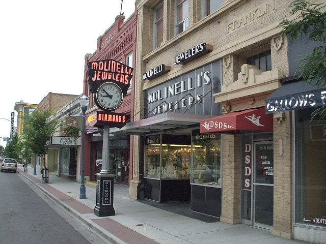 Molinelli's Jewelers: 126 N Main St, Pocatello, ID