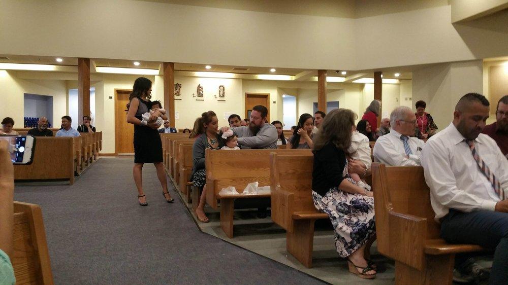 Saint Pius V Catholic Church: 7691 Orangethorpe Ave, Buena Park, CA