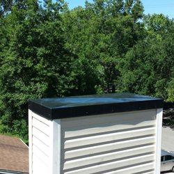 Photo Of DLV Roofing   Charleston, SC, United States. Custom Fit Chimney Cap