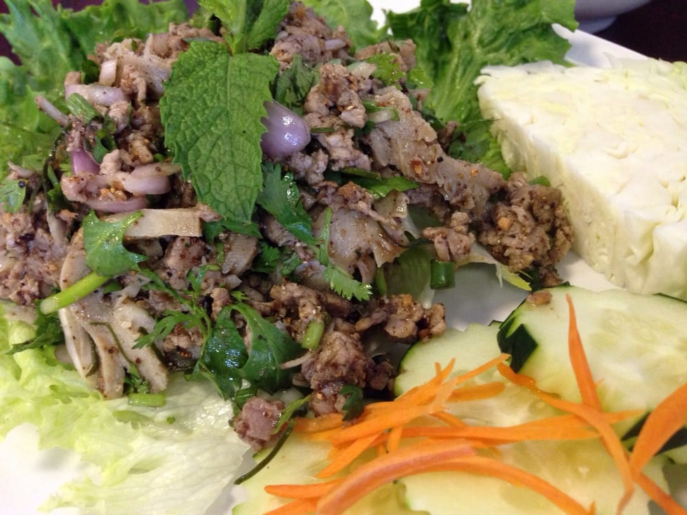 Beef larb yelp for Ano thai lao cuisine menu