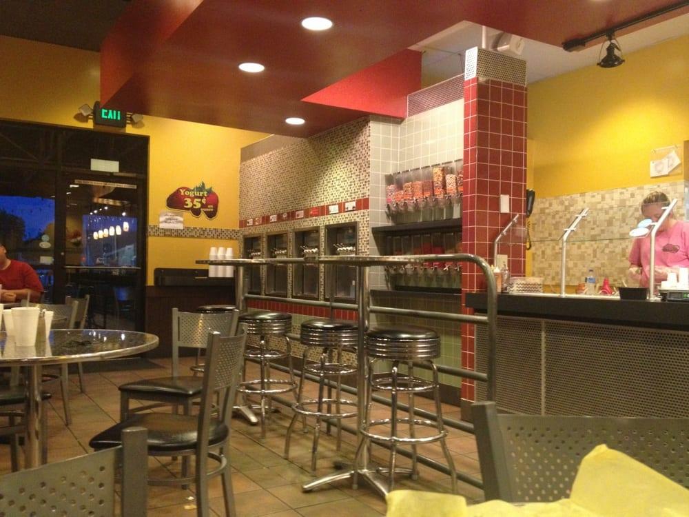 Fresco s mexican grill gourmet frozen yogurt 12 for Abbott california cuisine