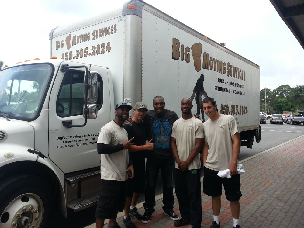 Bigfoot Moving Services: 6237 Bethany Dr, Crestview, FL
