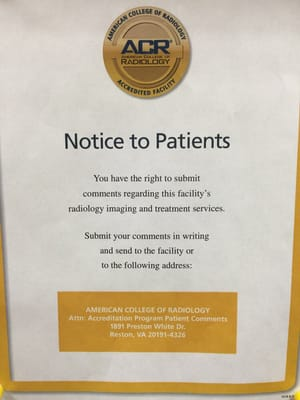 Community Radiology Associates 15225 Shady Grove Rd Ste 105