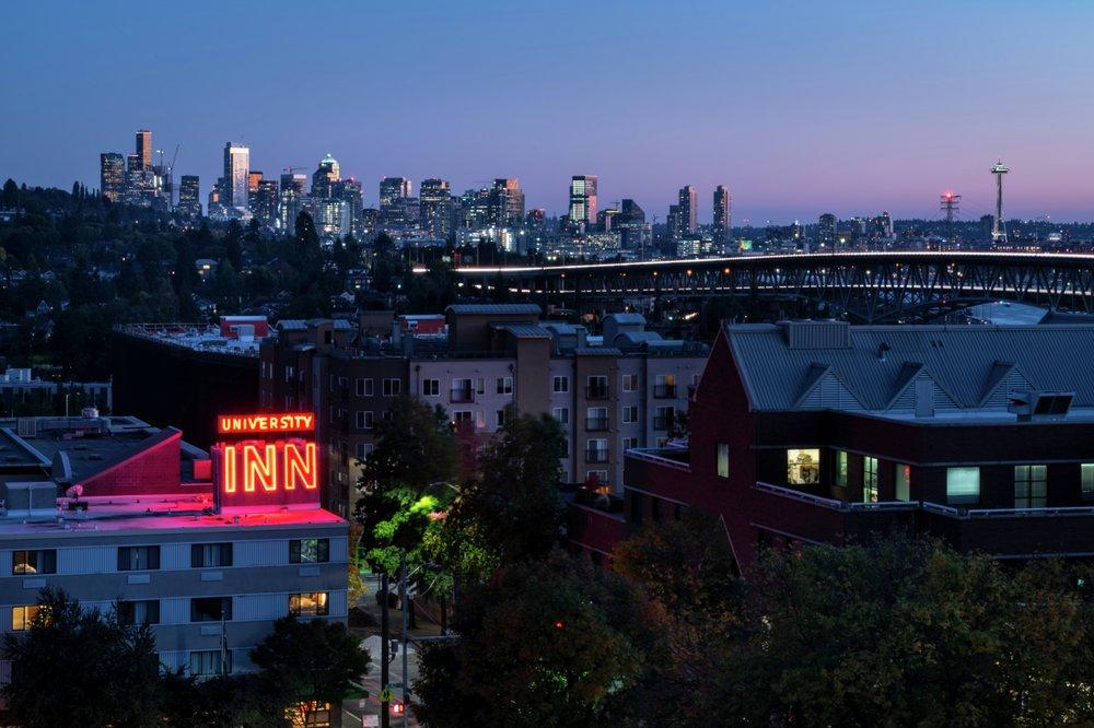 University Inn: 4140 Roosevelt Way NE, Seattle, WA