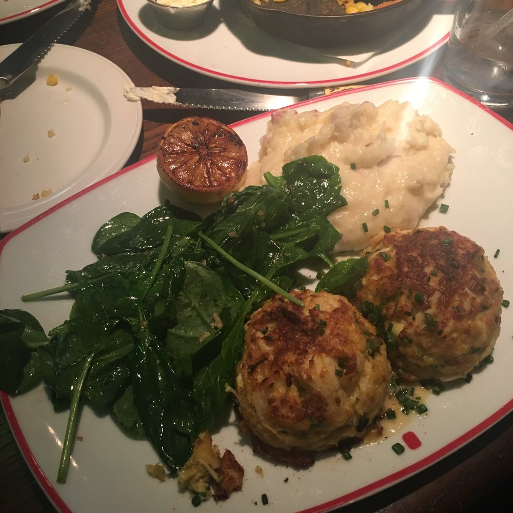 Founding Farmers Crab Cakes