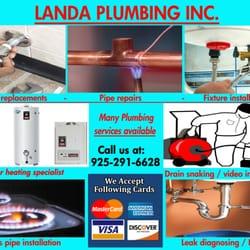 Landa Plumbing 15 Photos Amp 11 Reviews Plumbing Walnut Creek Ca Phone Number