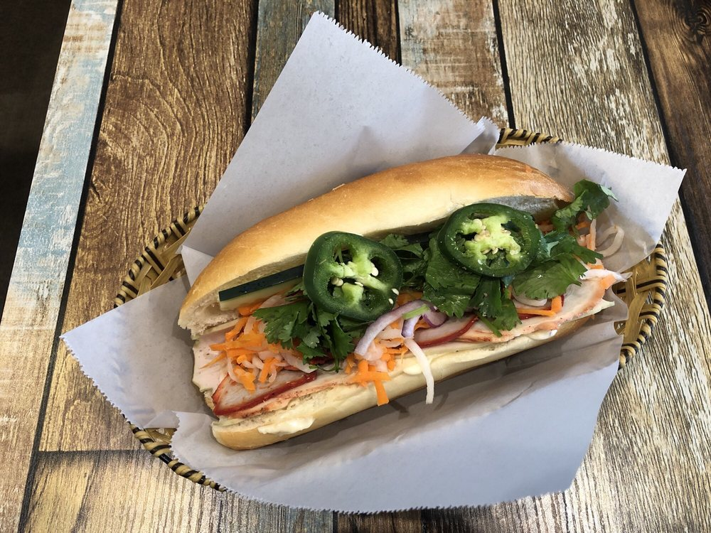 District 1 Banh Mi & Bar: 10013 Shoultes Rd NE, Marysville, WA