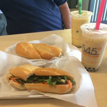 545° Banh Mi Cafe - Davie, FL, United States. Lemongrass tofu banh mi ...