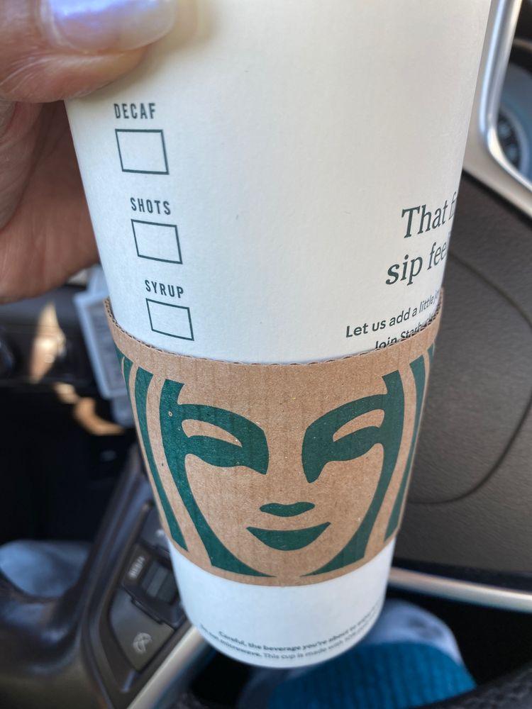 Starbucks: 14307 NE 23rd St, Choctaw, OK