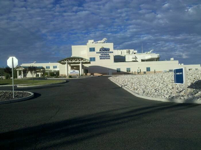 Northeastern Nevada Regional Hospital: 2001 Errecart Blvd, Elko, NV