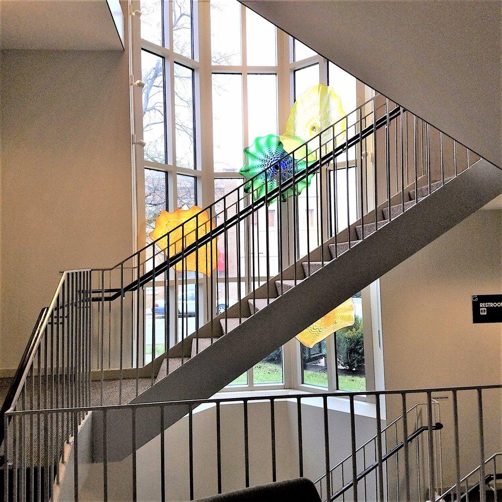 Columbus Area Visitors Center: 506 5th St, Columbus, IN