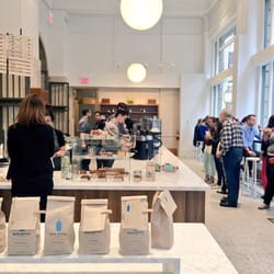 Blue Bottle Coffee On Bush And Sansome